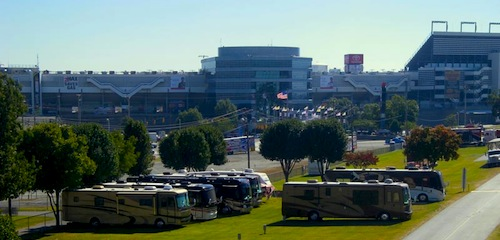 Closest Parking for RV's & Cars to Charlotte Motor Speedway